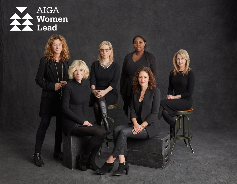 ˜New York-based AIGA Women Lead commitee members