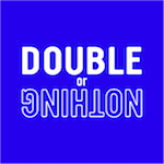 Double or nothing logo